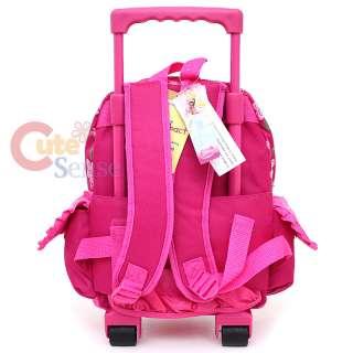 Disney Princess Tangeld School Roller Backpack Rolling Bag 4