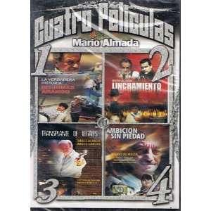 Cuatro Peliculas MARIO ALMADA//la Verdadera Historia De