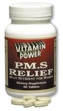 Vitamin Power for PMS Relief. 3 Bottles