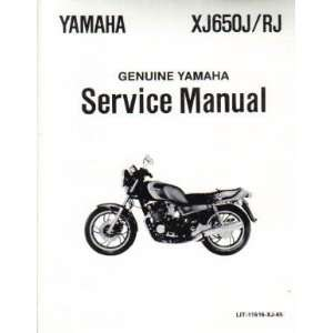 1982 Yamaha XJ650R Seca Factory Service Manual Yamaha Motors Books