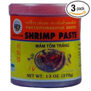Pantai Shrimp Paste, Large, 13 Ounce: Grocery & Gourmet Food