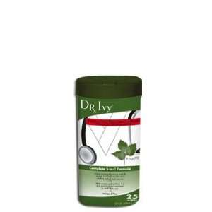 Dr. Ivy 25 ct. Wipes: 3 in 1 Poison Ivy prevention, treatment, relief